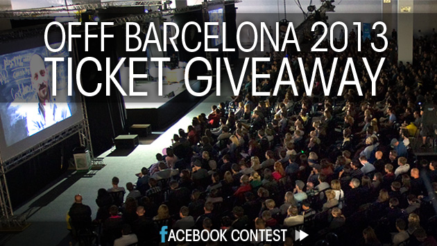 Win 2 Tickets to OFFF Barcelona 2013!