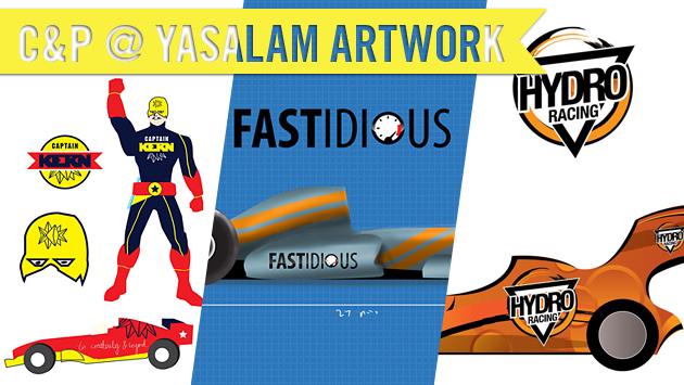 Cut&Paste @ Yasalam Tournament Artwork!
